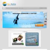 Site dynamique: Newskyline.fr