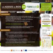Site vitrine: Assises du Bois 2012