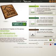 Site vitrine: Trophees du Bois 2012