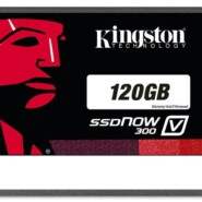 Kingston technology SSDNow V300 Disque flash SSD interne 2,5 » SATA III 120 Go